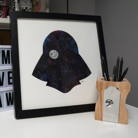 Framed original Vader