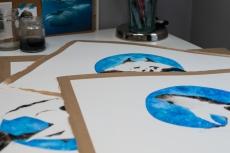 Original paintings in progress