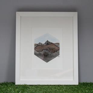 Snowdon Range, framed original