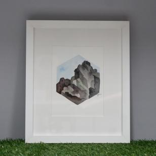 Y Gribin, framed original