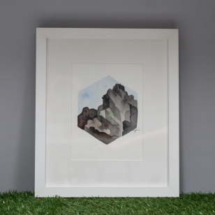 Y Gribin, framed original