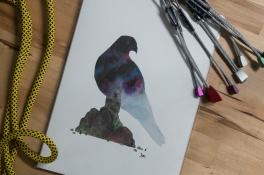 Falcon Ridge print (A4)