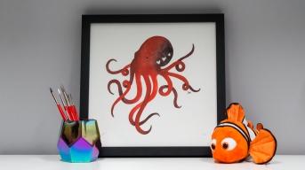 February: Octopus Hearts