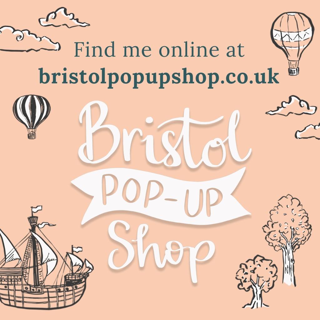 Bristol Pop-Up Shop online poster