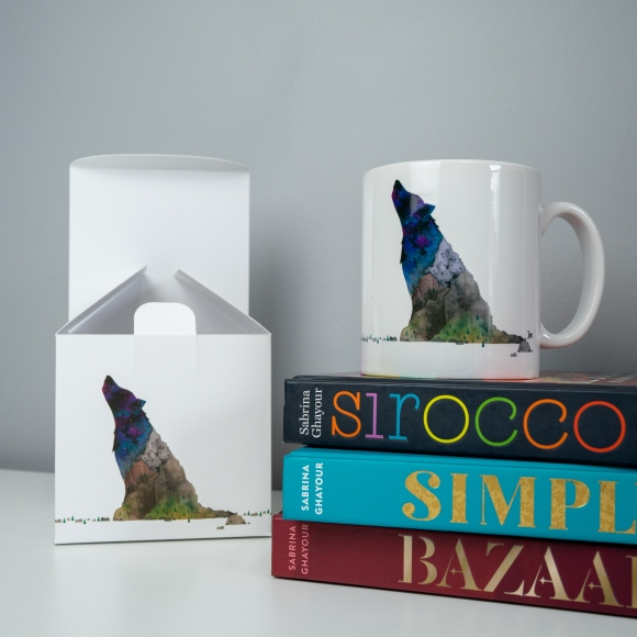 Wolf Mountain mug and gift box set