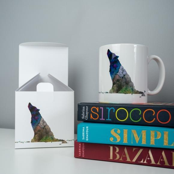 Wolf Mountain mug and gift box set